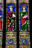 St Luke and St John: Christ with the Four Evangelists